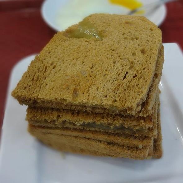 Kaya Toast with Butter @ Ya Kun Family Cafe