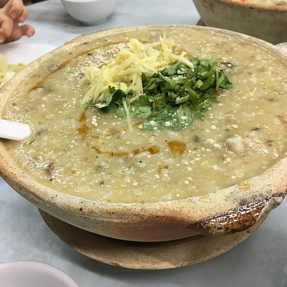 Oyster And Paddy Frog Porridge 蠔豉田雞粥