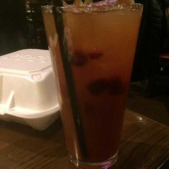 Tropical Raspberry Tea @ Tgi Friday's