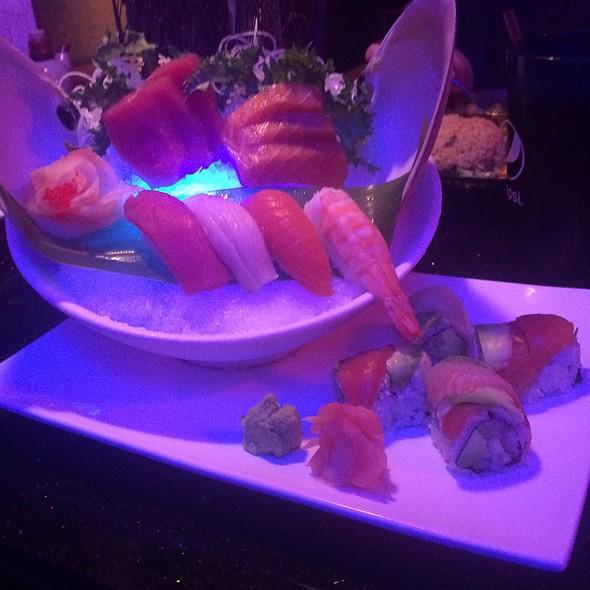 Sushi And Sashimi Combo @ Ichiro Japanese Fusion