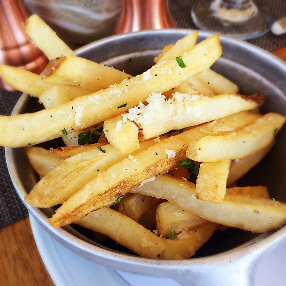 Truffle Parmesan Fries @ Beach Chalet