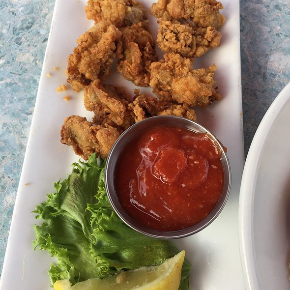 fried oysters @ Charleston Crab House