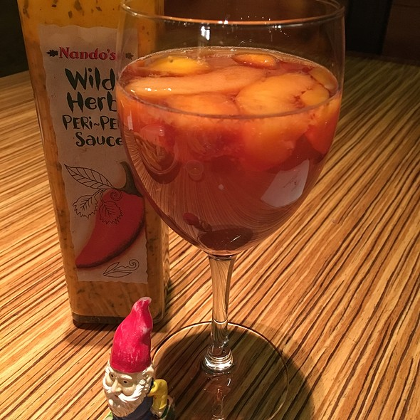 Mango Peach Sangria @ Nando's Peri Peri