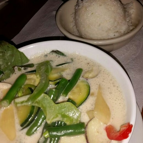 Green Curry @ TAP Thai Food