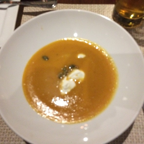 Butternut Squash Soup @ DISTRICT