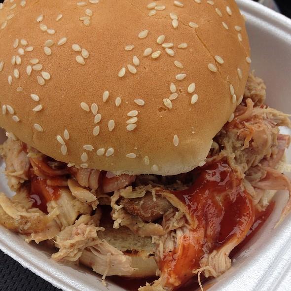 Bbq Pulled Chicken Sandwich @ Crazy Ray's Bbq