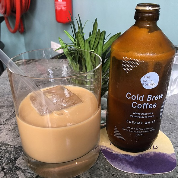 CREAMY WHITE Cold Brew  @ The Daily Roundup