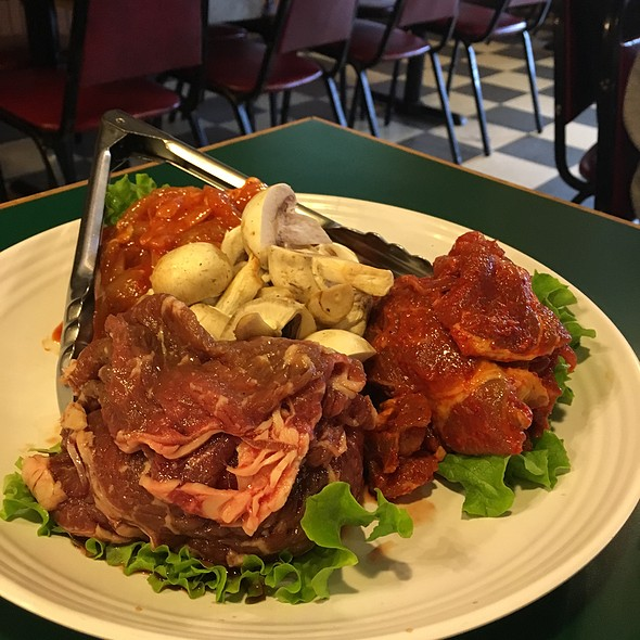 Chicken, Beef, And Pork Bbq