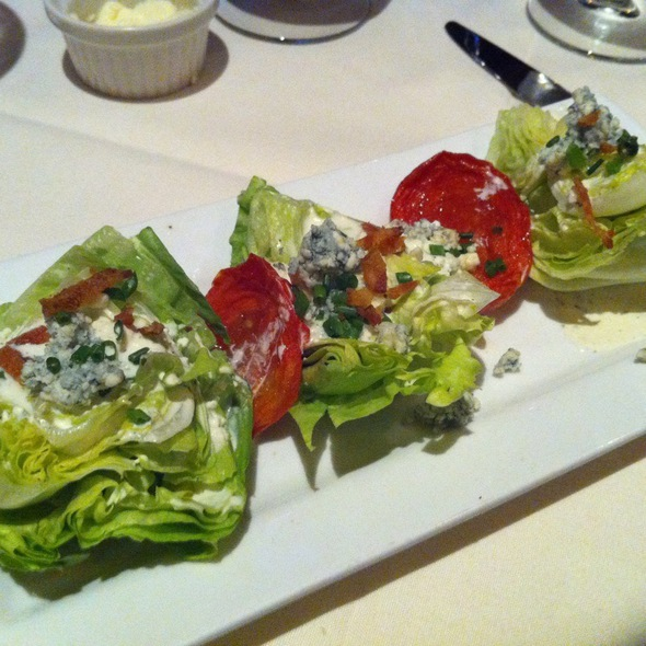 Baby Iceburg Wedge Salad - Cork Tree Restaurant, Palm Desert, CA