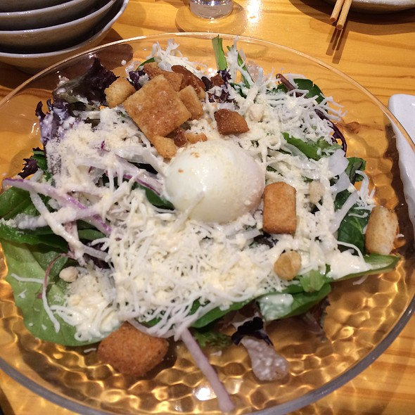 Ceasar Salad With Boiled Egg