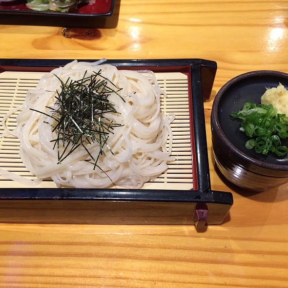 Cold Inaniwa Udon With Dipping Sauce