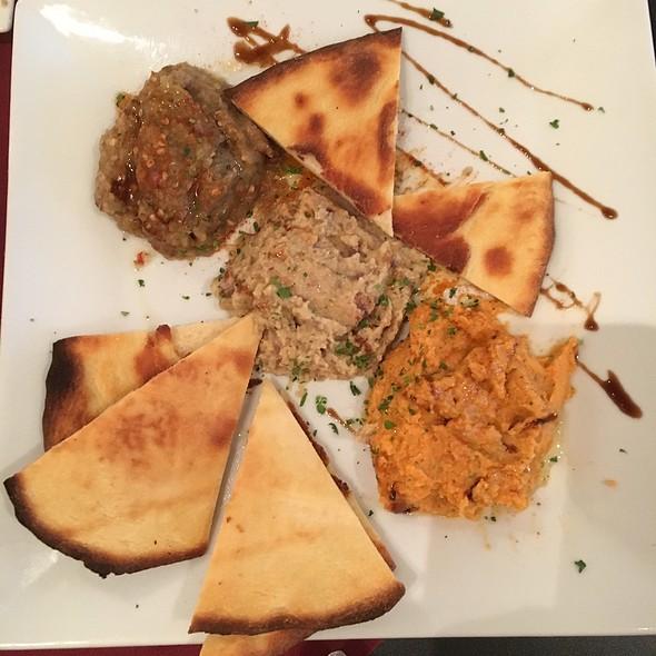 Hummus Trio @ Zaffron Mediterranean Cuisine