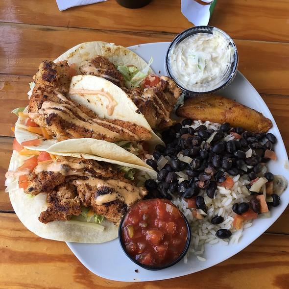 Grouper Tacos @ Baja Tavern & Eats