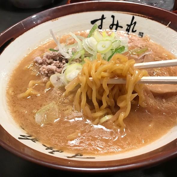 味噌ラーメン @ 札幌すみれ 新横浜ラーメン博物館店