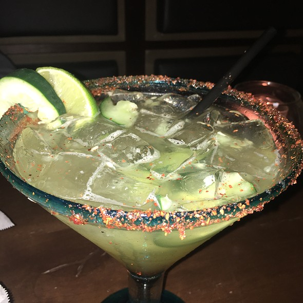 Cucumber Margarita @ El Pescador