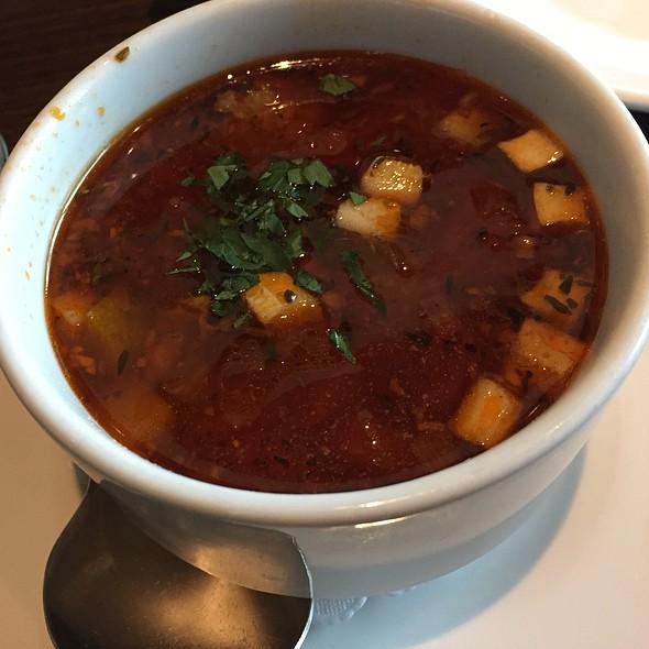 Italian Sausage + Orzo Soup