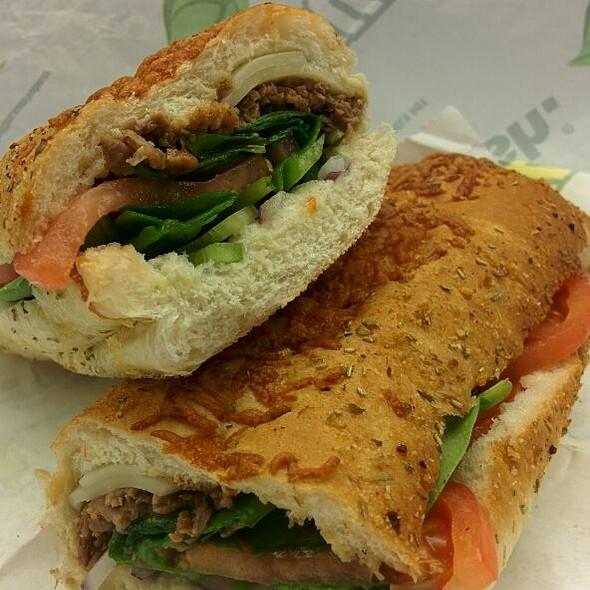 Cheesesteak Sandwich @ Subway