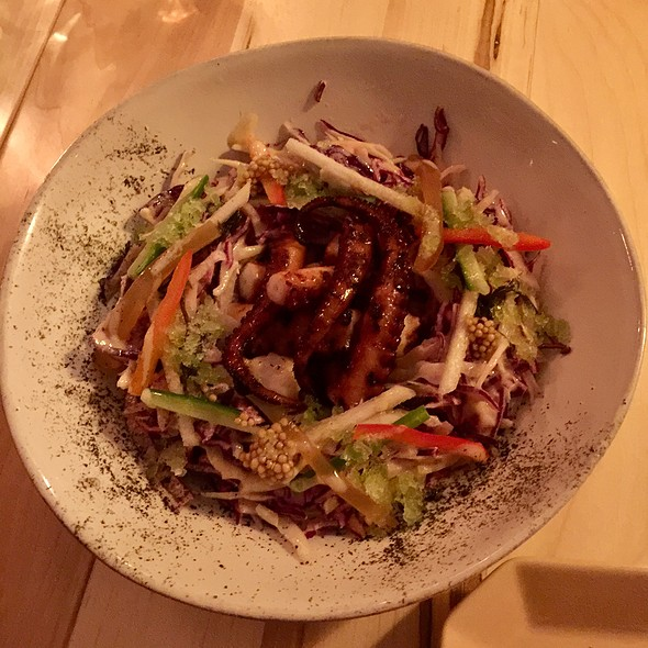 Octopus Salad @ Doma