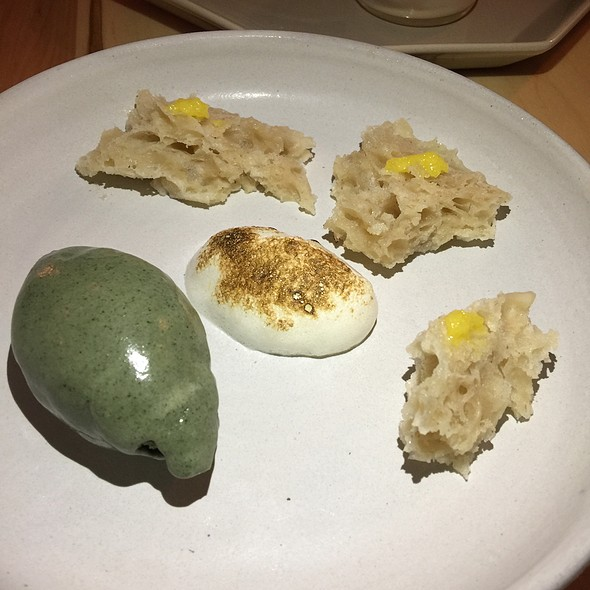 Mugwort Ice Cream @ Doma