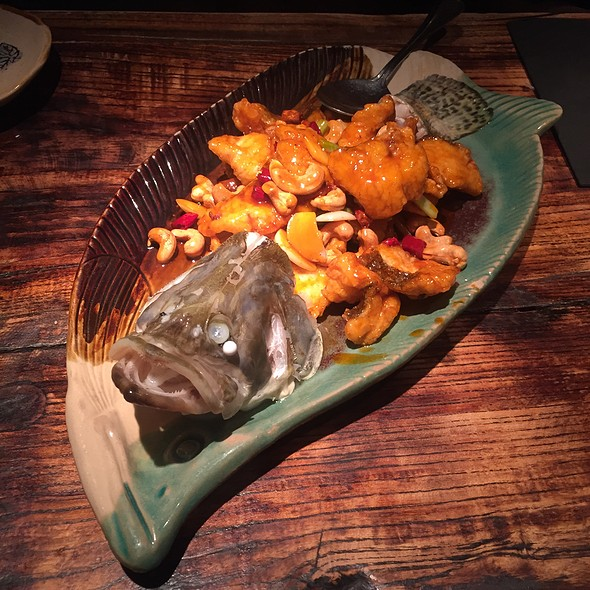 Kung Pow Fried Mandarin Fish With Cashew Nuts