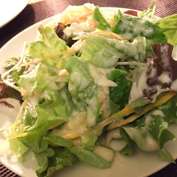 ランチのサラダ @ Taverna I 不動前店
