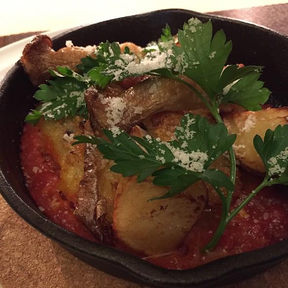 鱈のオーブン焼き、トマトソース @ Taverna I 不動前店