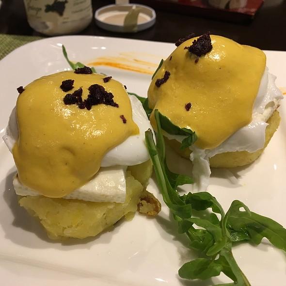 Huevos A La Huancaina @ Hilton Hotel Lima