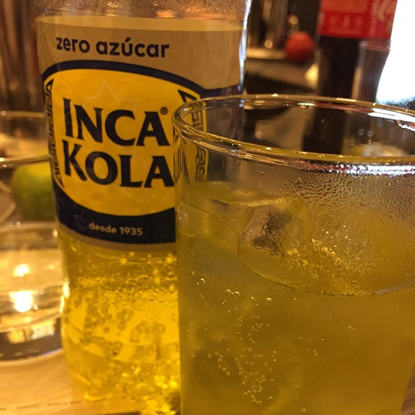 Inca Kola @ Hilton Hotel Lima