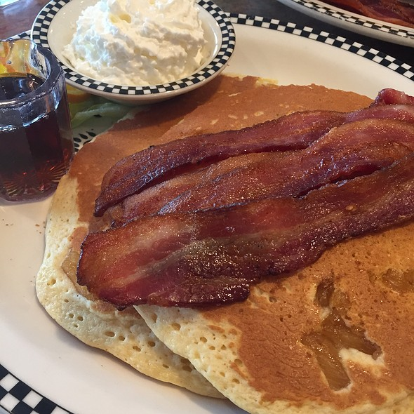 Pineapple Upsidedown Pancakes @ Black Bear Diner