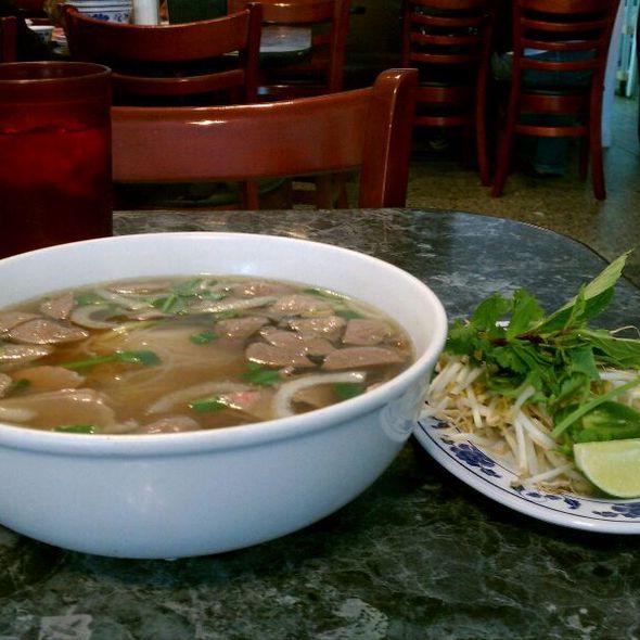 Beef & Meatball Pho @ Vietnam Cafe