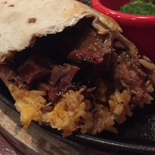 Brisket Burrito @ L.I.  Pour House
