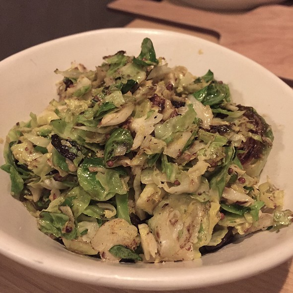 Charred Brussels Sprouts @ Stoke Charlotte