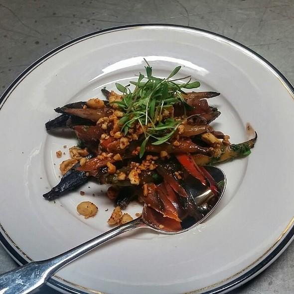Blistered carrots  @ Supper Restaurant