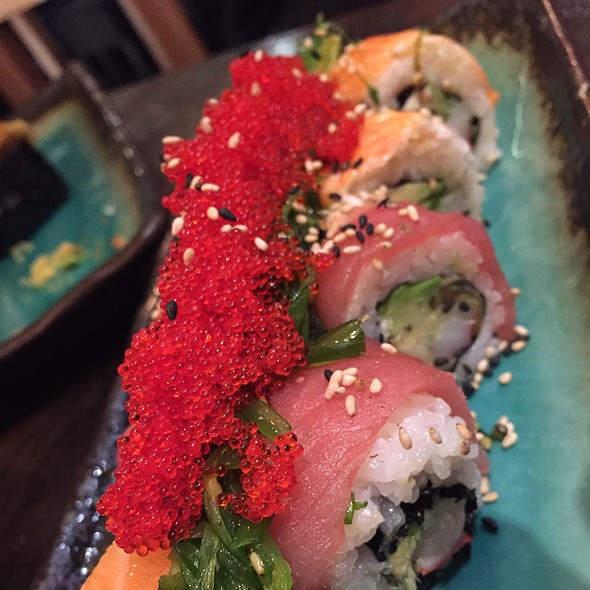 Dragon Roll @ Berger Streetfood - Fusion Sushi