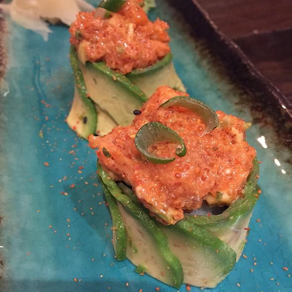 Salmon Tulip @ Berger Streetfood - Fusion Sushi