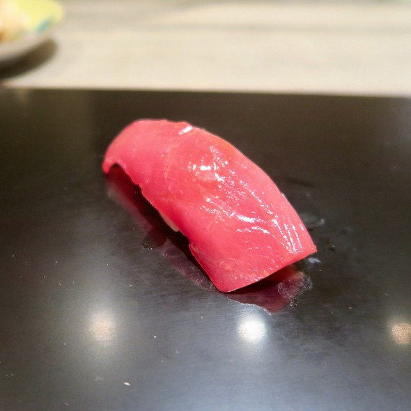 Soy-Marinated Blue Fin Tuna
