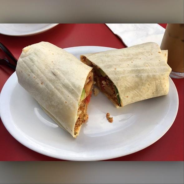 Chicken Chorizo Breakfast Burrito