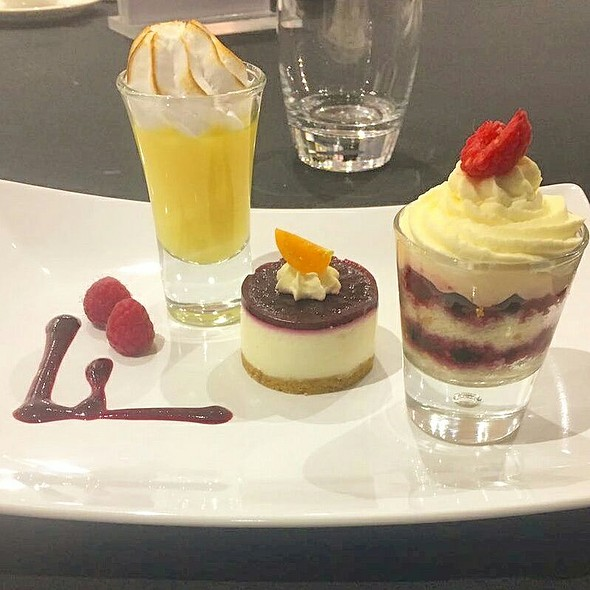 Assorted Desserts @ Marco Pierre White