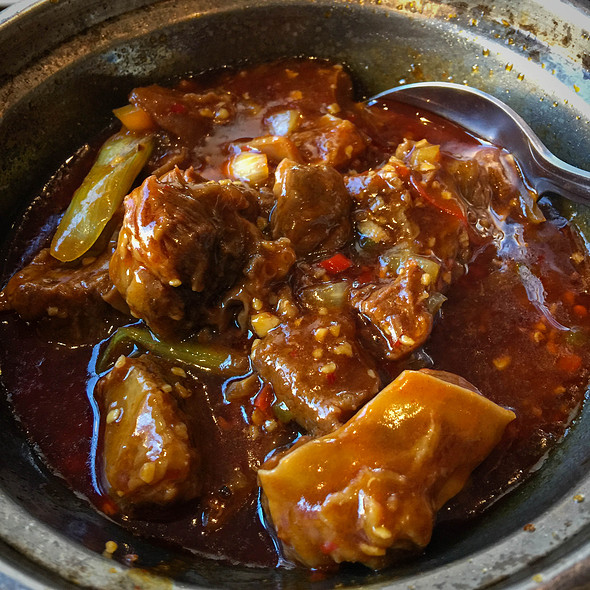 Spicy Beef Stew @ Kam Tong Restaurant