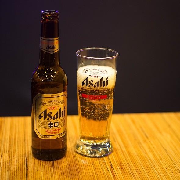 Asahi Beer @ Shiso Burger - Paris