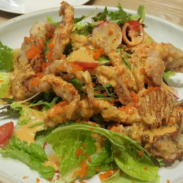Spicy Soft Shell Crab Salad