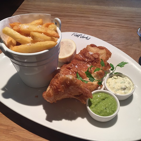 Fish and Chips @ FishWorks