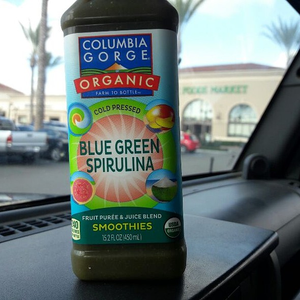 Columbia Gorge Organic Blue Green Spirulina Smoothie
