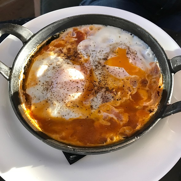 Eggs Poached In Spicy Tomato Sauce