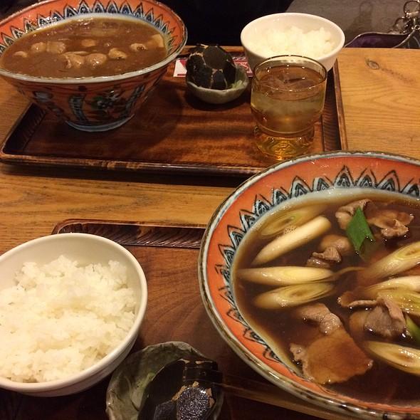 Hot Soba And Rice