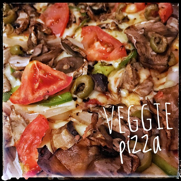 Veggie Feast Pizza