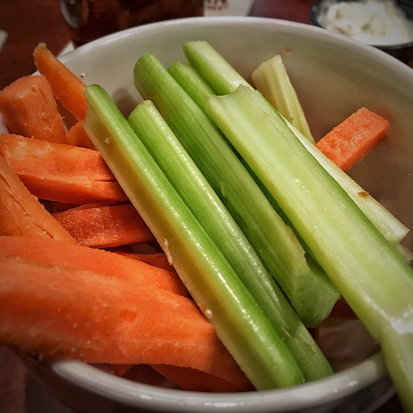 Carrots and Celery with Dips  @ St.Louis Bar & Grill