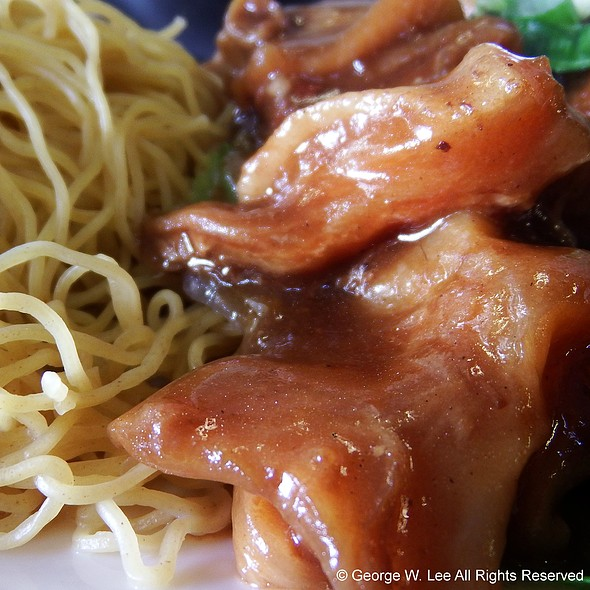 Beef Stew With Dry Noodle