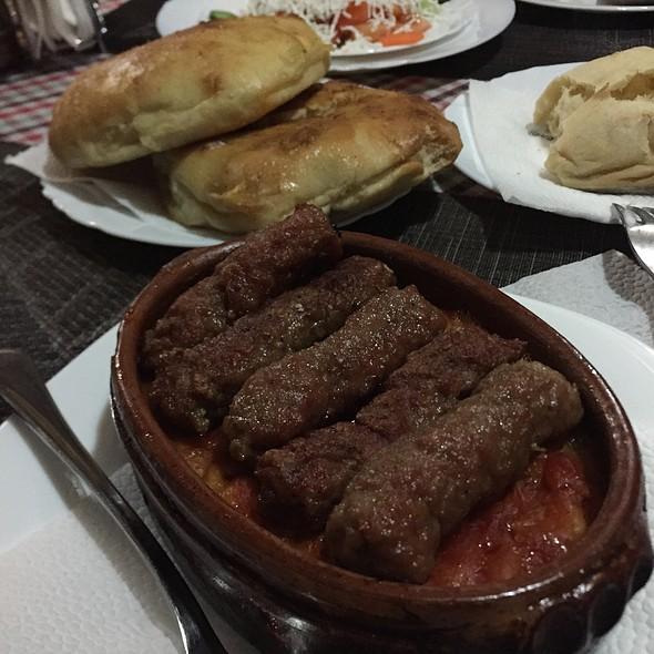 Meatball Kebab @ Gostilnica La Tana