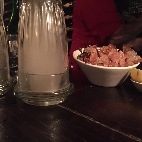 Tea Smoked Oysters @ Desnuda
